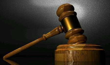 裁判で使われていた木槌