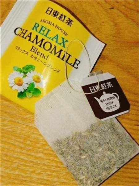 日東紅茶の「リラックス カモミールブレンド」は個別アルミ包装で金属の留め具を不使用