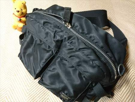 マジックミシンで修理してもらったバッグ
